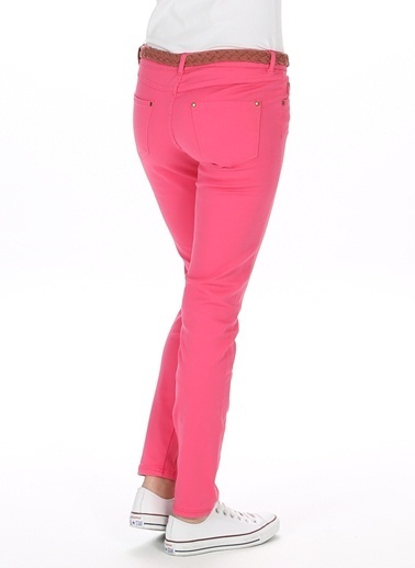 Loox Slim Fit Pantolon Pembe